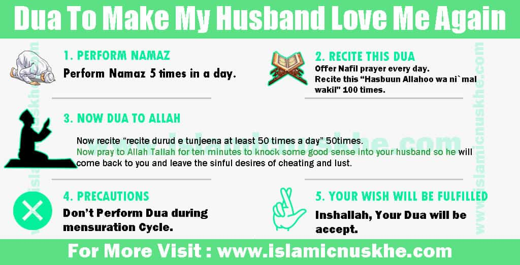 Dua To Make My Husband Love Me Again