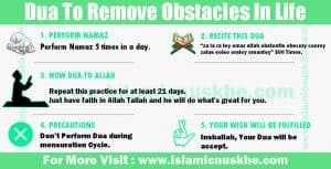 Dua To Remove Obstacles In Life