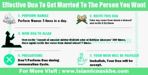 Effective Dua To Get Married To The Person You Want