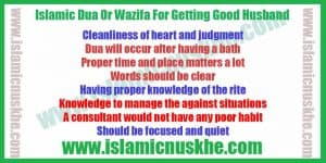 Islamic Dua Or Wazifa For Getting Good Husband