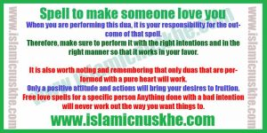 Best Spell to make someone love you