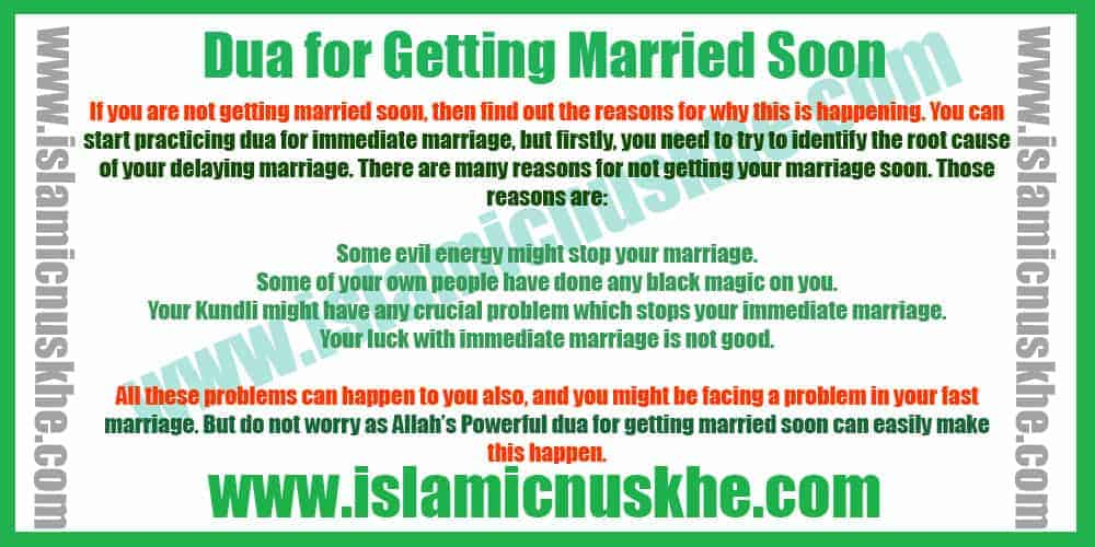 Best Dua For All Types Of Marriage Solution