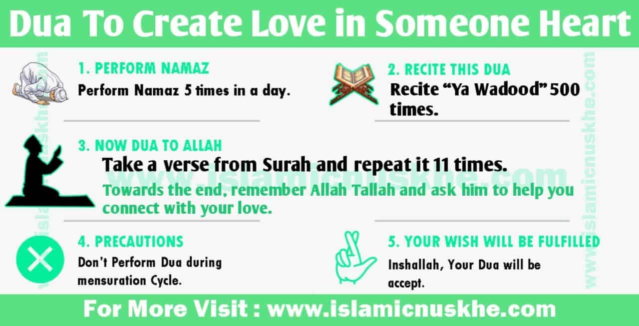 Best Dua To Create Love in Someone Heart