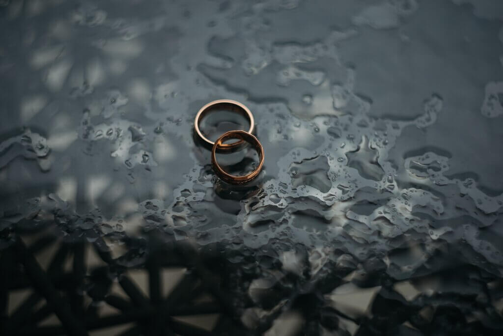Image of couple rings