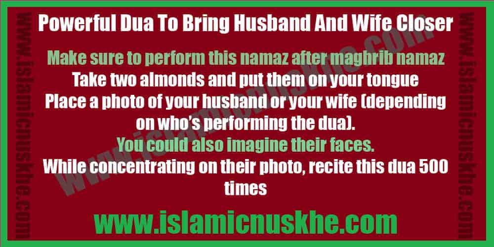 Best Dua To Bring Husband And Wife Closer