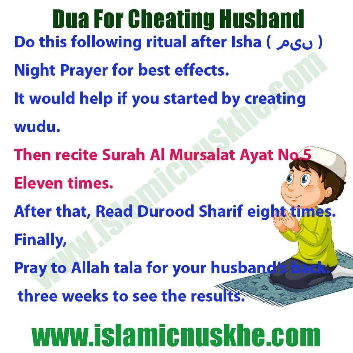 To husband steps cheating forgive a How to