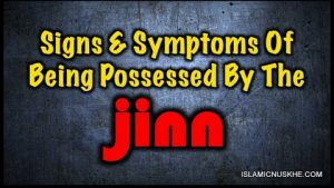 signs of jinn in house