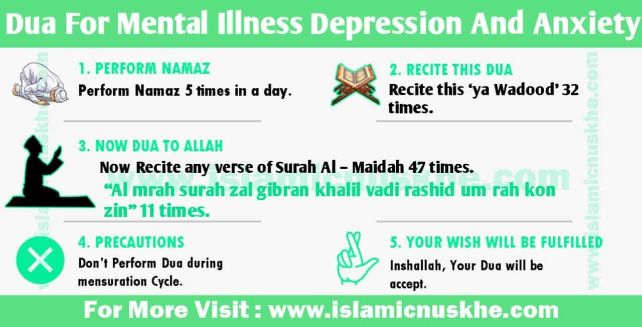 Best Dua For Mental Illness Depression And Anxiety