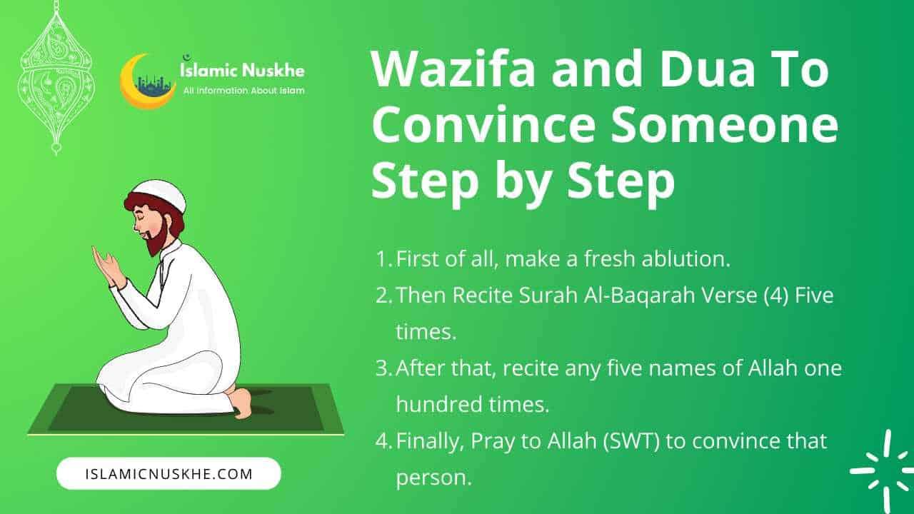 Wazifa and Dua To Convince Someone