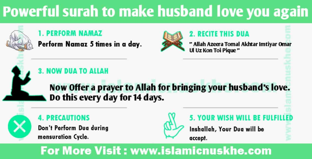 Powerful surah to make husband love you again