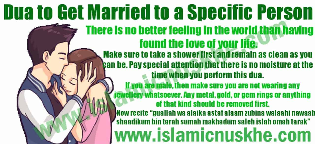 Best Dua to Get Married to a Specific Person