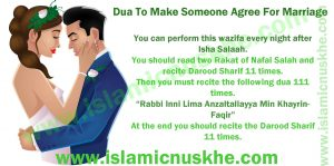 Best Dua To Make Someone Agree For Marriage