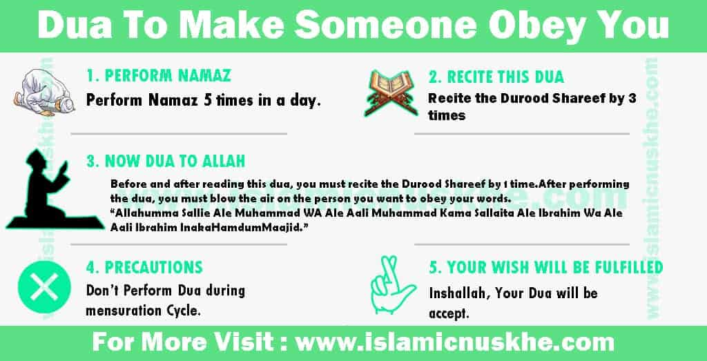 Best Dua To Make Someone Obey You