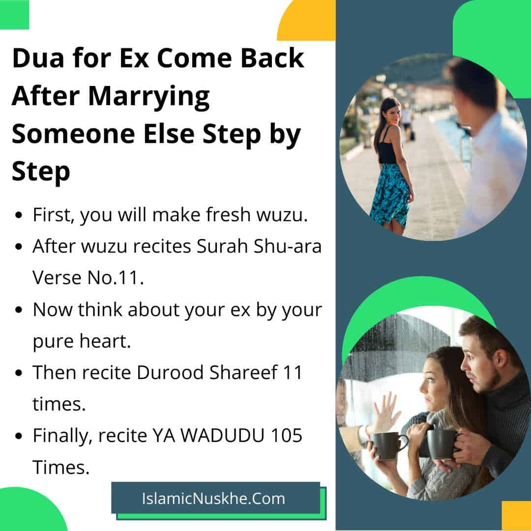 Here is Dua for Ex Come Back After Marrying Someone Else Step by Step