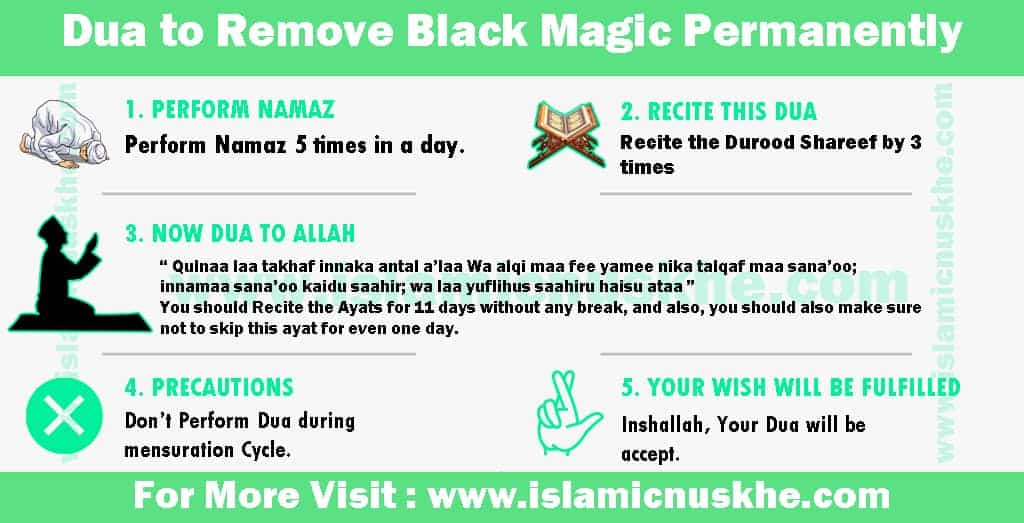 Dua to Remove Black Magic Permanently in Islam