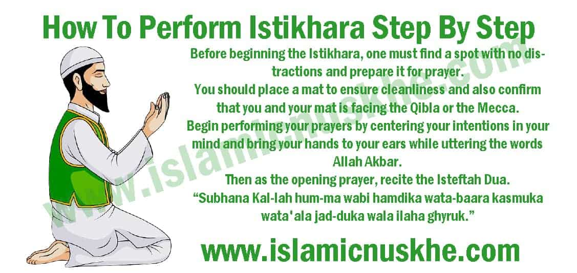 How To Perform Istikhara Step By Steps