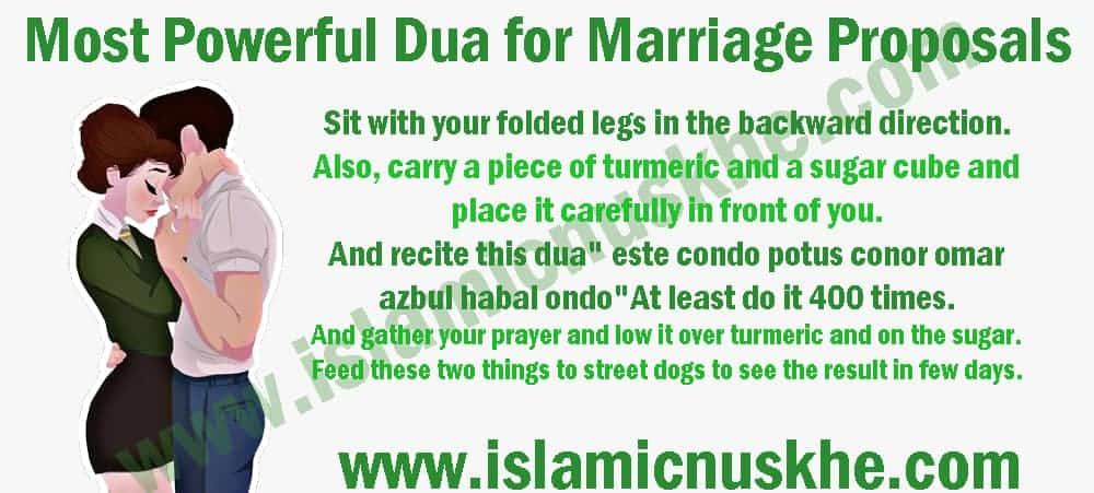 Most powerful Dua for Marriage Proposals