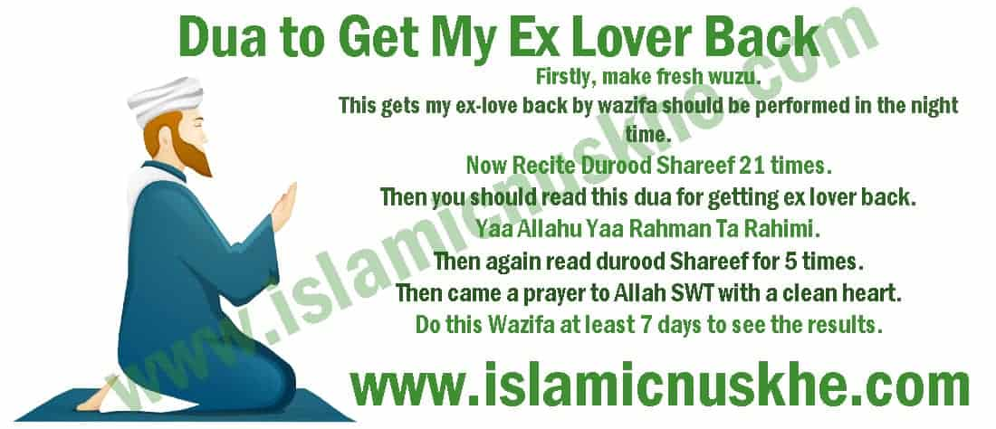 Perform Dua to Get My Ex Lover Back