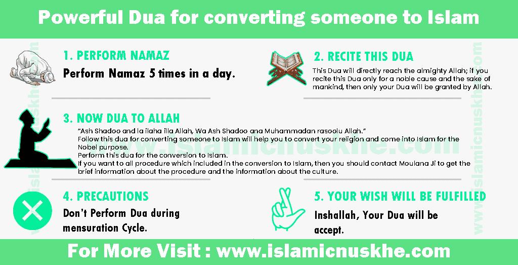 Powerful Dua for converting someone to Islam