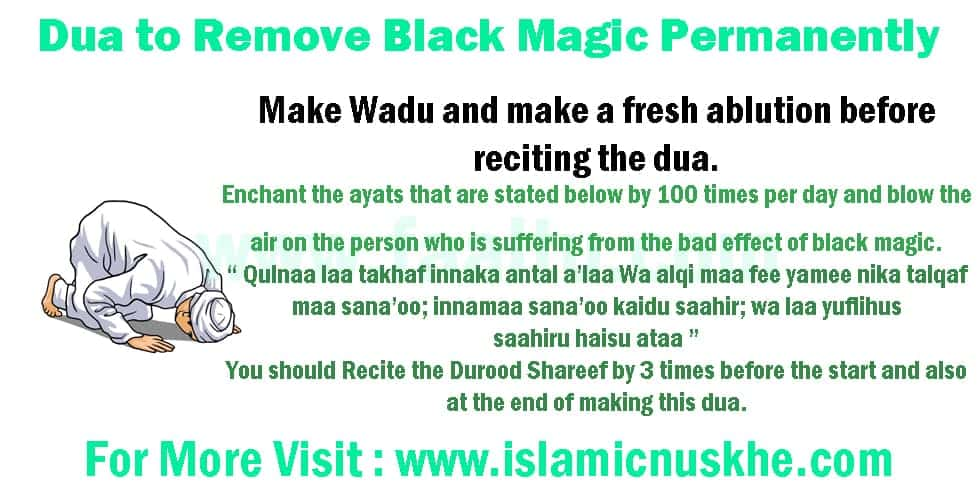Powerful Dua to Remove Black Magic Permanently in Islam