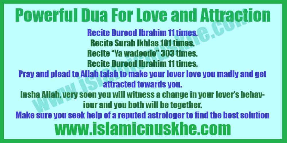 Powerful Dua For Love and Attraction