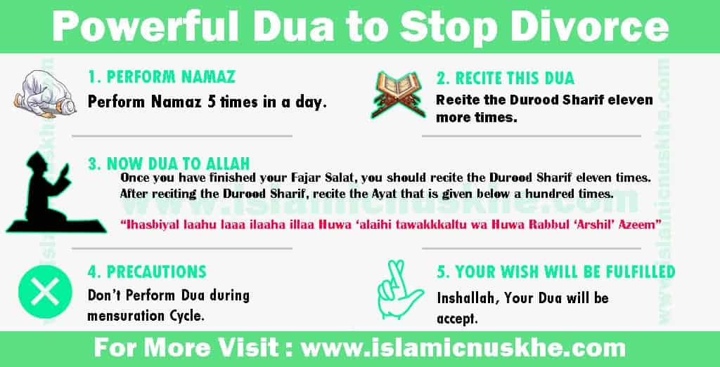 Powerful Dua to Stop Divorce - Dua to Reunite Husband and Wife (1)