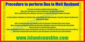 Procedure to Perform Dua to Increase Love in Husband Heart