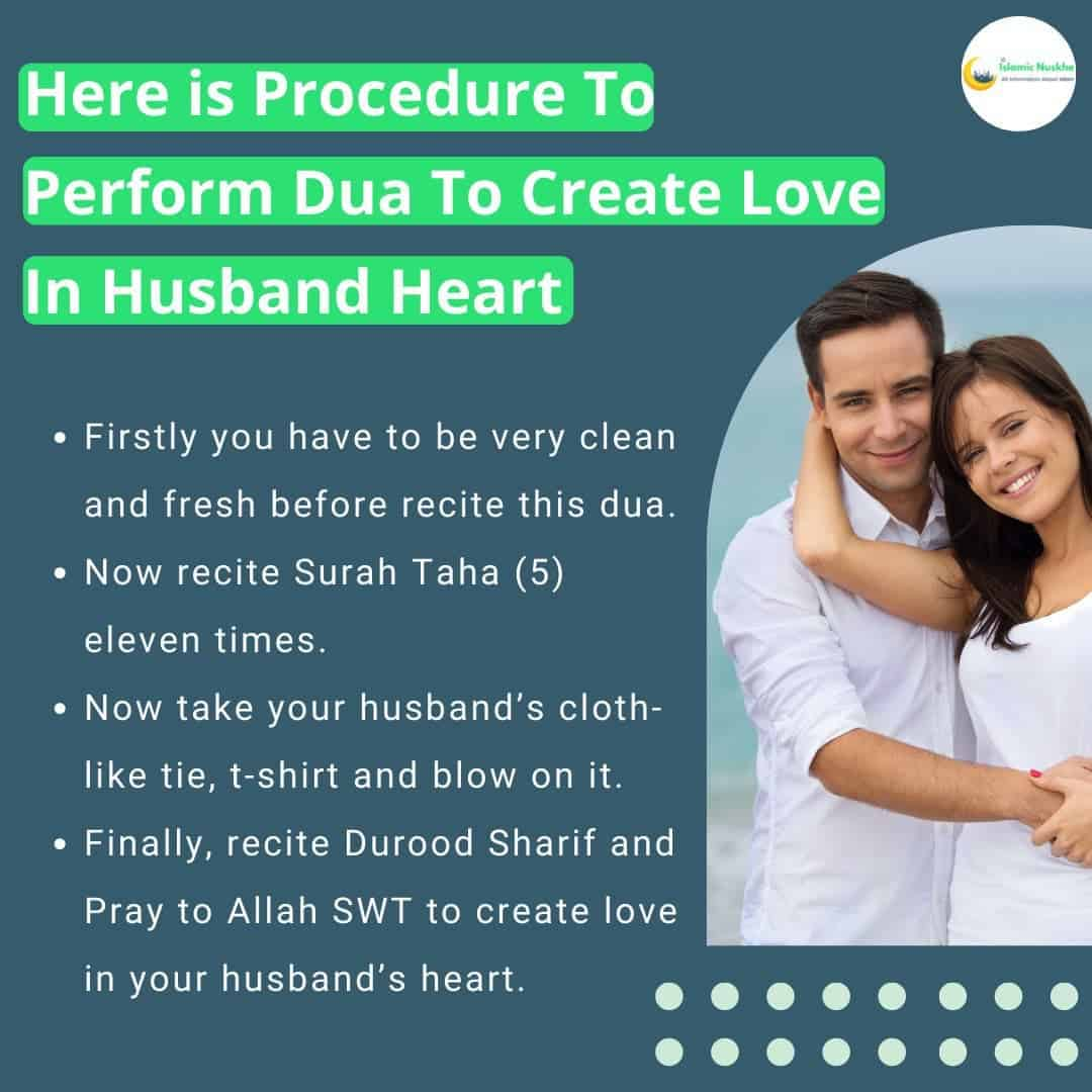 Here is Procedure To Perform Dua To Create Love In Husband Heart