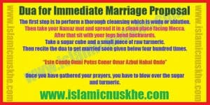 Dua for Immediate Marriage Proposal