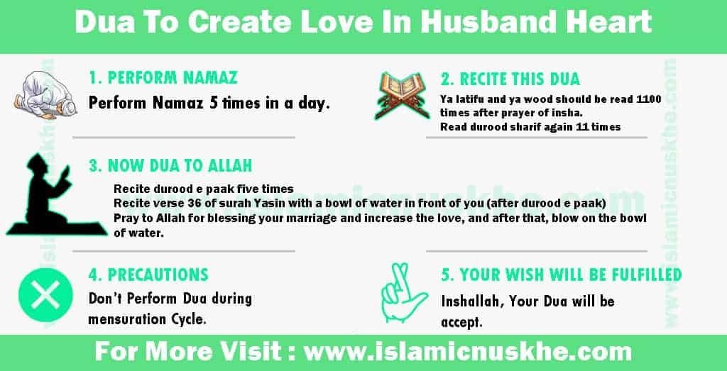 Dua To Create Love In Husband Heart